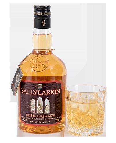 Ballylarkin Liqueur on the Rocks